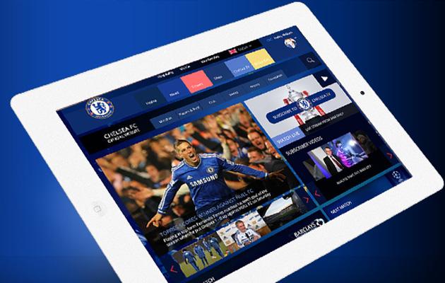 Chelsea FC Responsive Concept